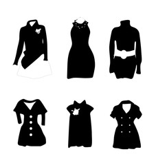 Woman Fashion Vector Silhouette