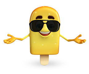 Candy Character With sun glasses