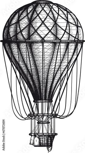 Old Air Ballon - 67872684