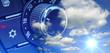 Leinwanddruck Bild - Klimaanlage & Sommerwetter
