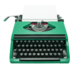 typewriter green