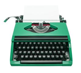 typewriter green