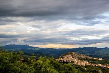 Panorama di Calitri (Avellino)