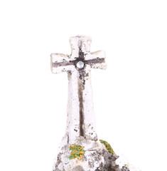 Stone cross.
