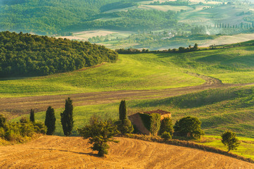Gorgeous and full of serenity landscape of Tuscany, Italy