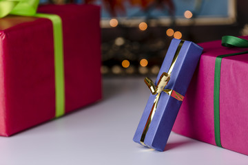 Wrapped presents.