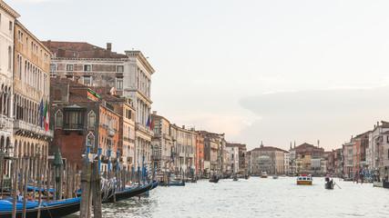 Venedig, historische Altstadt, Kanal, Canale Grande, Italien