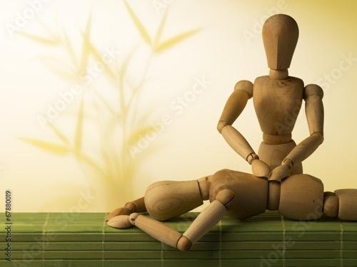 canvas print picture Wellness, Massage