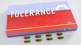 Tolerance medication poster