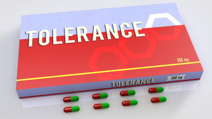 Tolerance medication