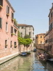 Venedig, Altstadt, historische Häuser, Kanäle, Italien