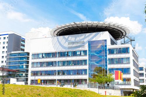 Leinwandbild Motiv Halle Saale - Klinikum
