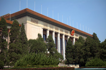 The Great Hall of People, Beijing, China