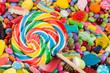 lollipop on sweets