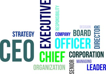 word cloud - ceo