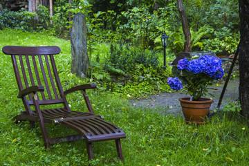 Gartenliege