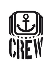 Cool Crew Anchor Logo