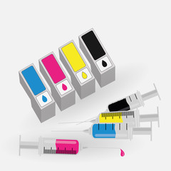 Refilling ink cartridges compatible