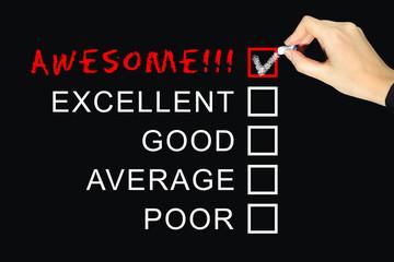 Customer Service Satisfaction Survey - Concept