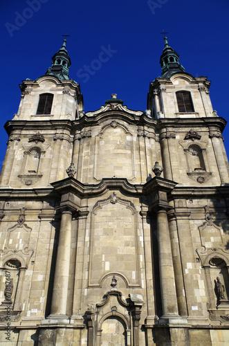 Zdjęcia na płótnie, fototapety, obrazy : Jędrzejów church and monastery Poland 2
