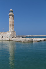 Rethymno lighthous