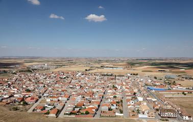 Town Consuegra, Castilla La Mancha, Spain