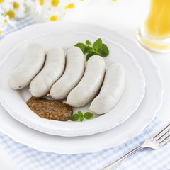 Weißwürste - Munich white sausages
