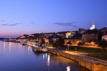 Belgrad At Night, Serbia