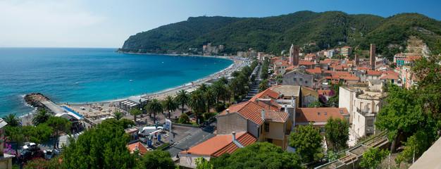 The mediterranean village of Noli