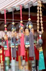 China's traditional souvenirs in the gift shop