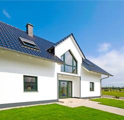 modernes Wohnhaus - Zuhause