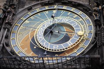 Detail of the Prague Astronomical Clock (Orloj)