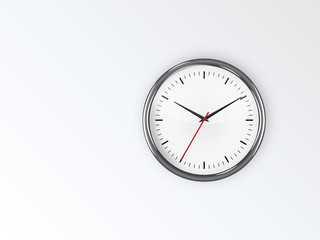 clock on wall vector wallpaper