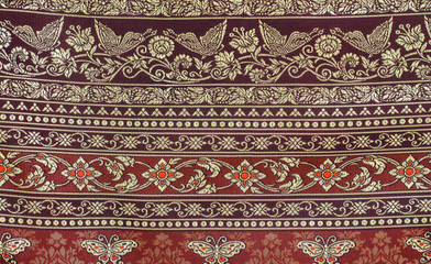 Beautiful Fabric Pattern From Thailand