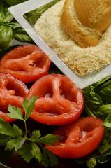 Pomodori gratinati Tomato au gratin Solanum lycopersicum