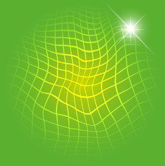 Light Green With Grid background