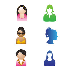 Girl Icon vector
