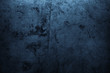canvas print picture - Blue concrete wall