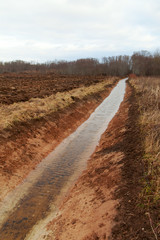 New ditch.