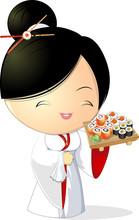 Sushi fille