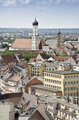 Augsburg Heilig-Kreuz-Kirche evangelisch und katholisch Vogelper