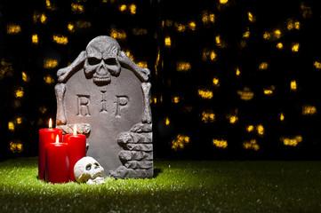 Halloween gravestone