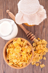 cornflake and milk