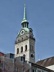 Campanile della Peterskirche a Monaco di Baviera