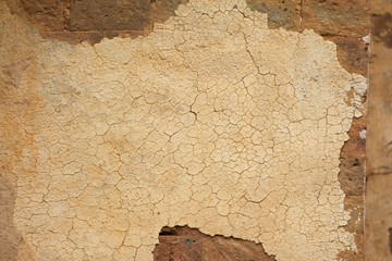 Old Plaster mortar wall