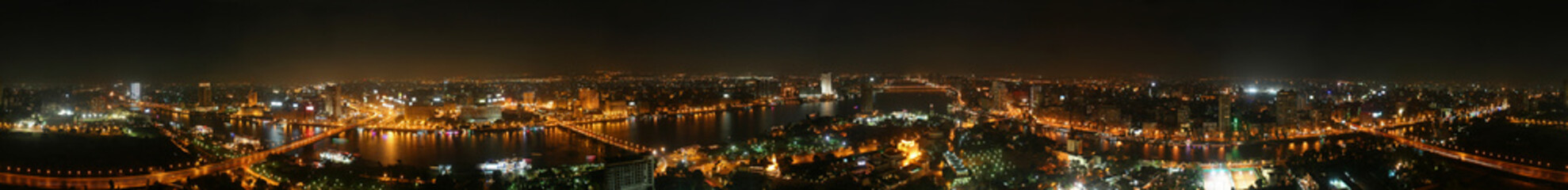 Cairo at night - 360