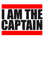 I am the Captain Logo Design