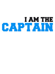 I am the Captain Logo