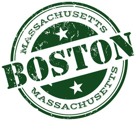 boston stamp