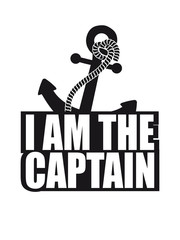 I am the Captain Cool Logo Design
